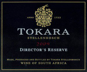 Tokara Winery Director's Reserve Red