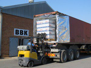 Today we loaded our first container! USA here we come! May this be the first of many! #superexcited